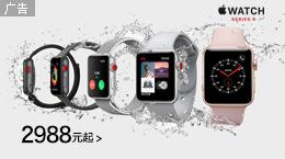 苹果Watch Series 3 运动手表