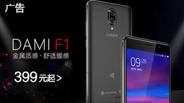 大米智联 F1 2GB+16GB 4G智能手机